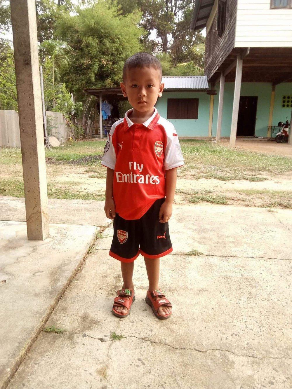 Sutisak Bunsit (Frank) (4 years old, boy)