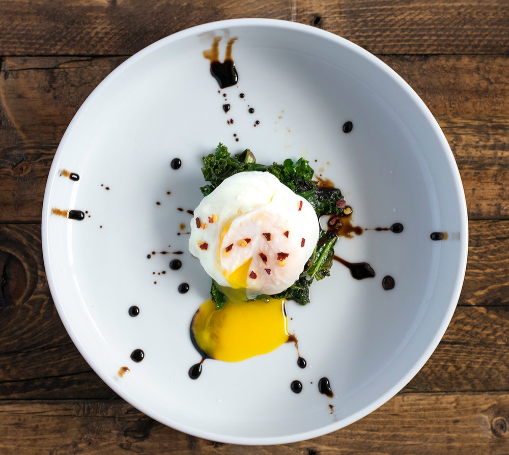 Chef Cody Beverstock I CB Cuisine I Poached Egg