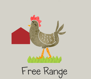 - Free range hens live in houses and have access to 2 square feet of an uncovered outdoor area per bird for at least 6 hours per day, weather permitting. They are kept indoors at night to protect them from predators.As stated by the Certified Humane Organization.