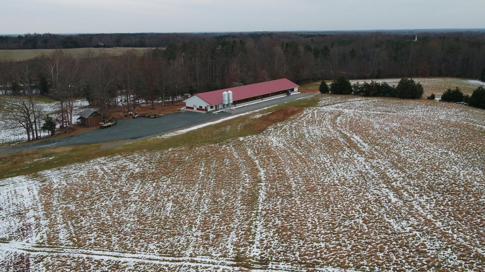Our new, state-of-the-art, pasture-raised farm that began producing eggs in March.