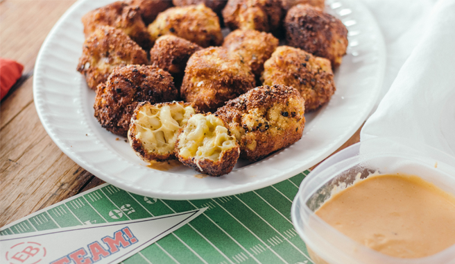 A crowd favorite, these can be enjoyed by the TV or tailgate.