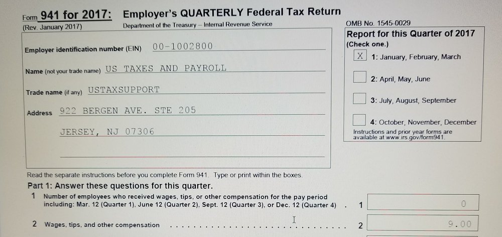 Services Us Taxes And Payroll