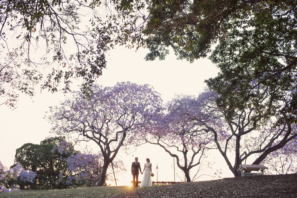Jacaranda Wedding