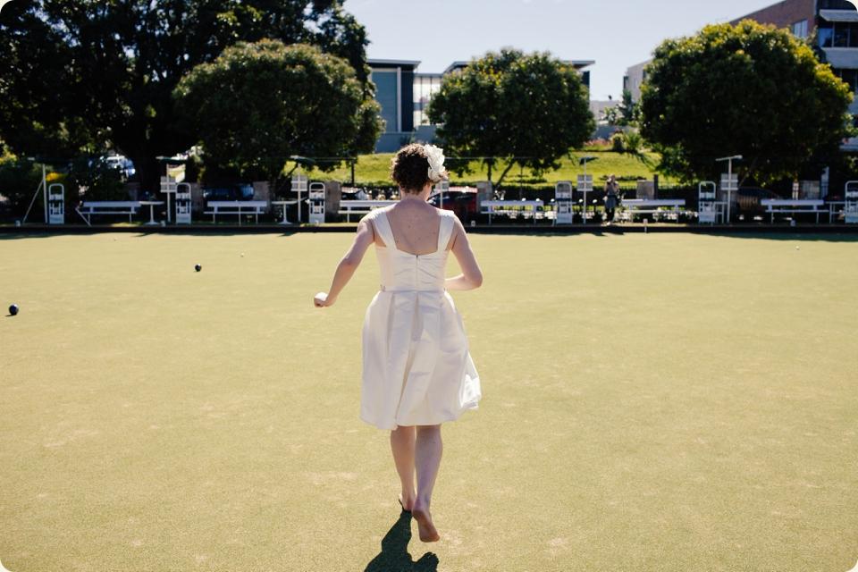 Bride Lawn Bowling