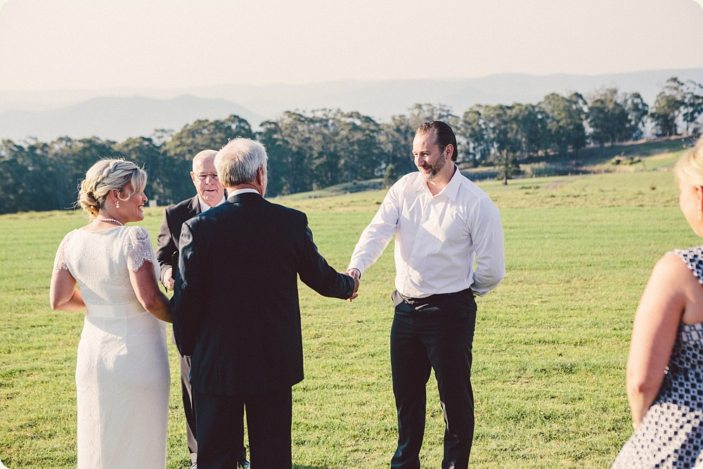 Spicers Peak Lodge Ceremony