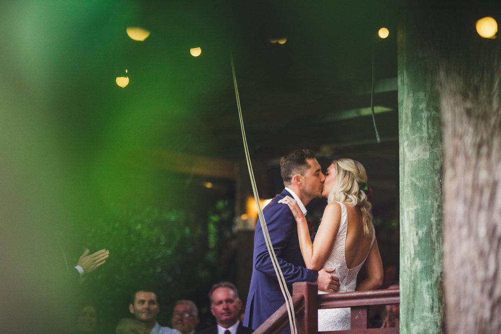 Bride and Groom getting married at Bundaleer