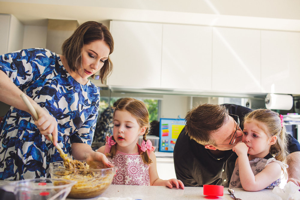 Brisbane family baking