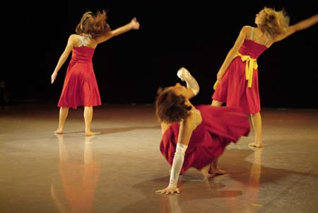 Ulrika Berg, Ashley Saffioti, and Eline Tan by Quinn Batson