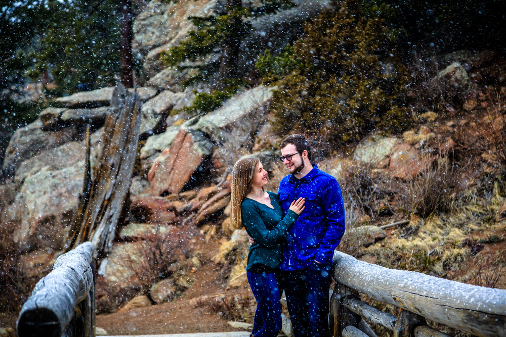 Lizzy & Jeffrey - Estes Park, CO