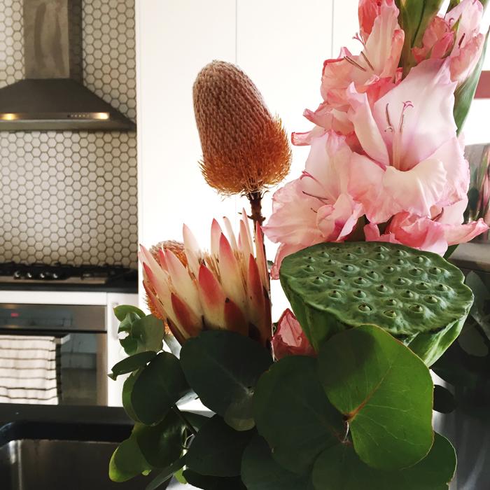 Kitchen_ flowers