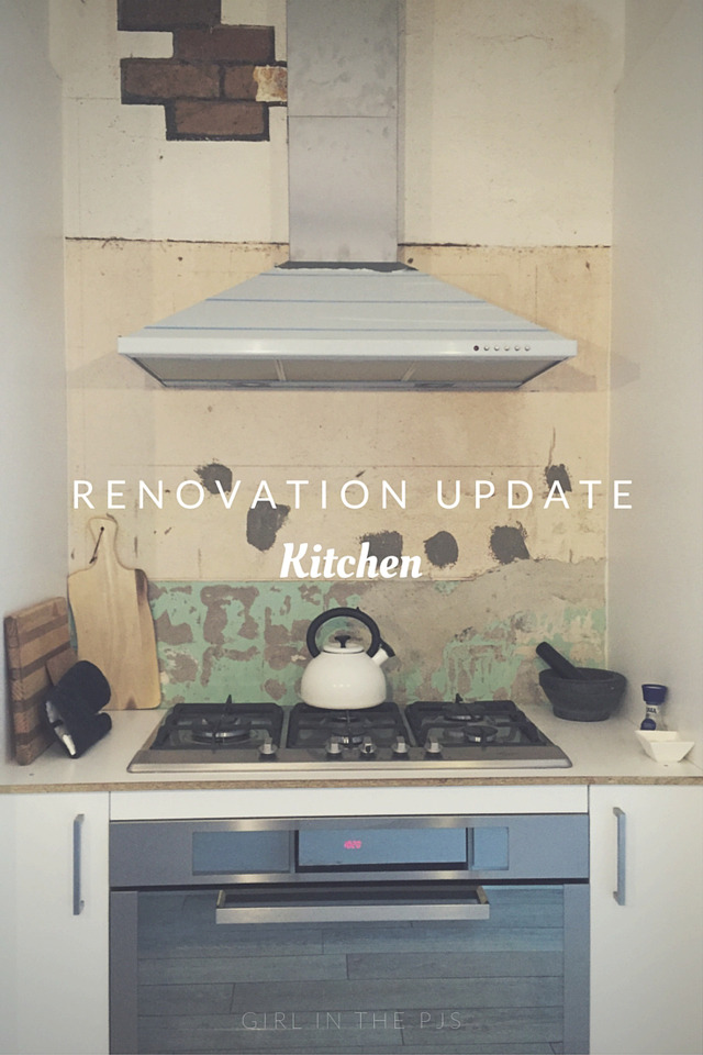 Renovation Update Kitchen
