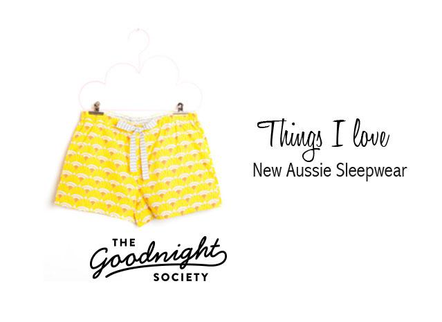 The goodnight society