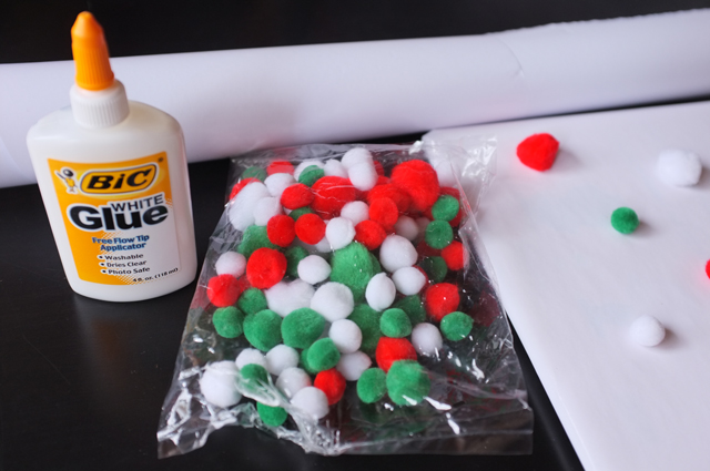 DIY Pompom Wrapping