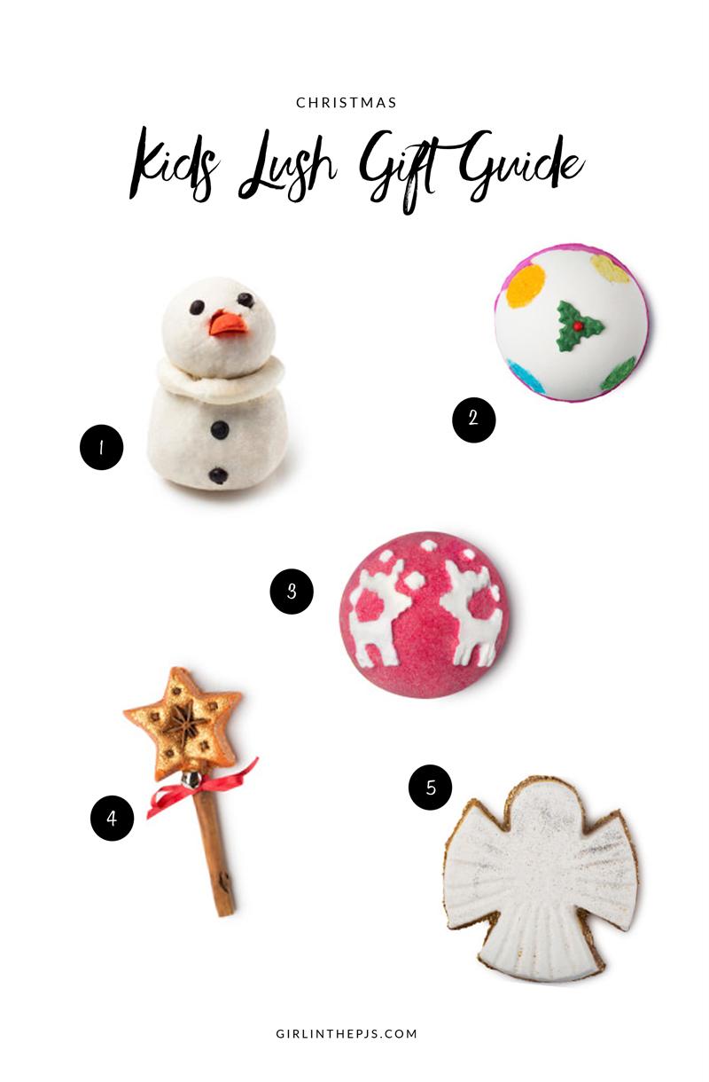 Kids Lush Gift Guide