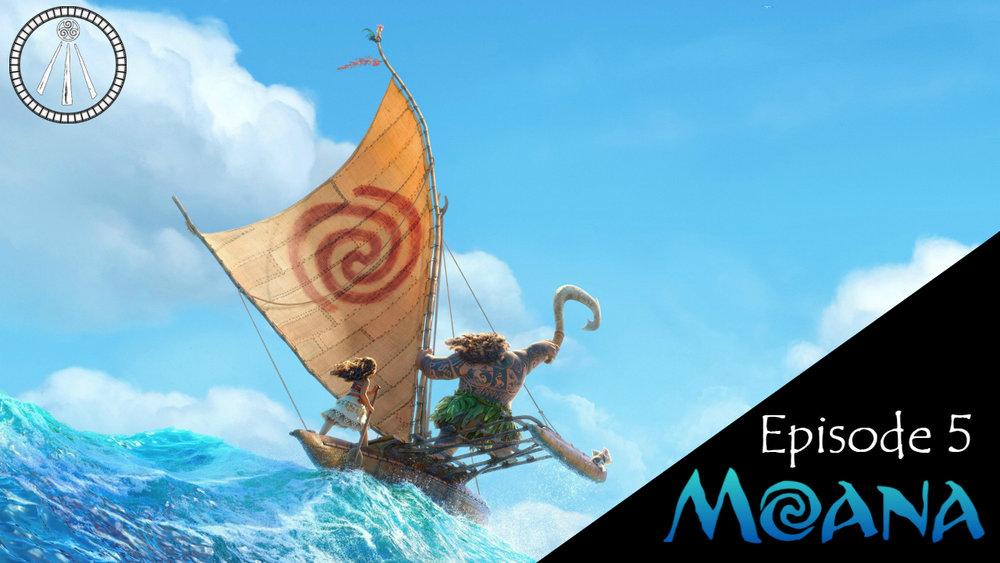 Moana Story Cauldron Banner