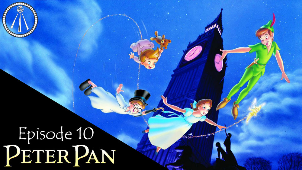 Peter Pan Story Cauldron Banner