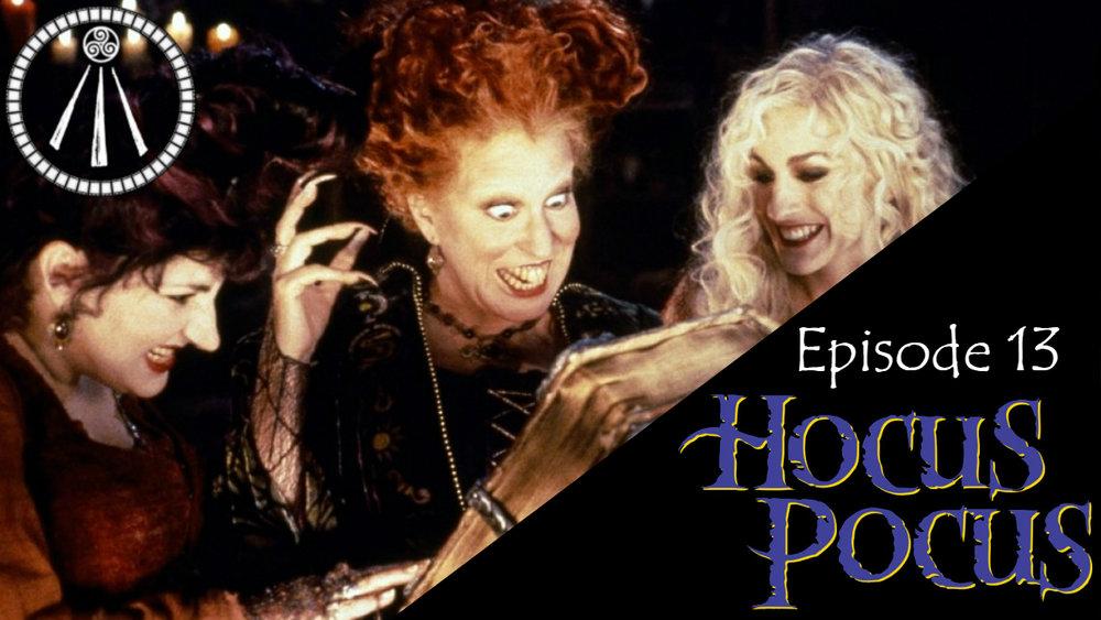 Hocus Pocus Story Cauldron Banner