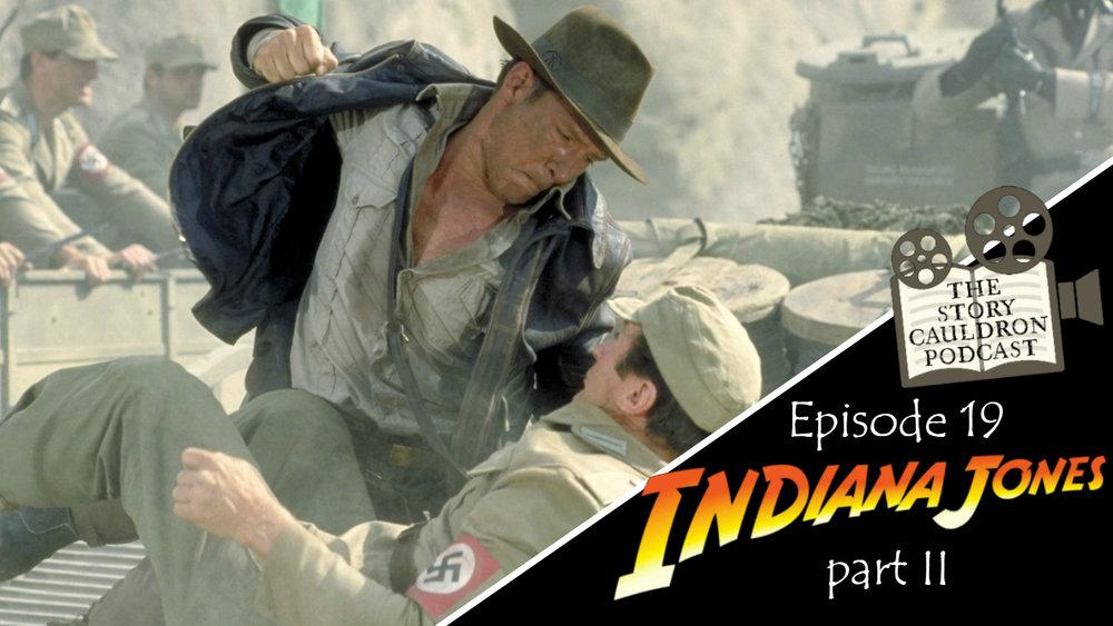Indiana Jones 2 Banner