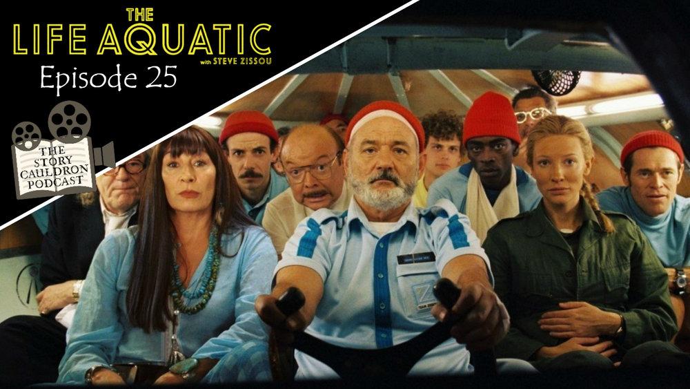Life Aquatic Steve Zissou Episode Banner