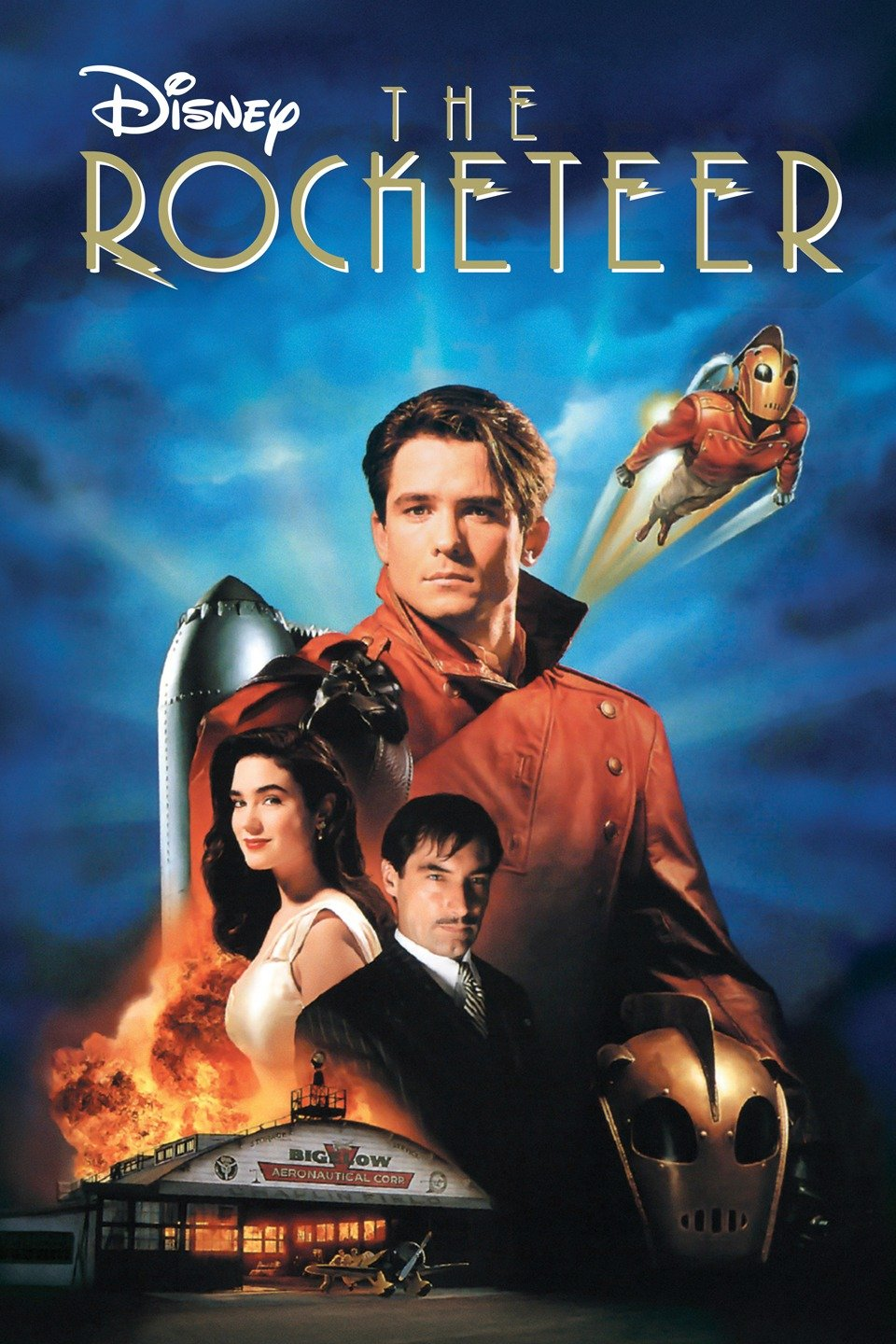 Episode 11: The Rocketeer - A young pilot stumbles onto a prototype jetpack that allows him to become a high flying masked hero.Available: 8/29