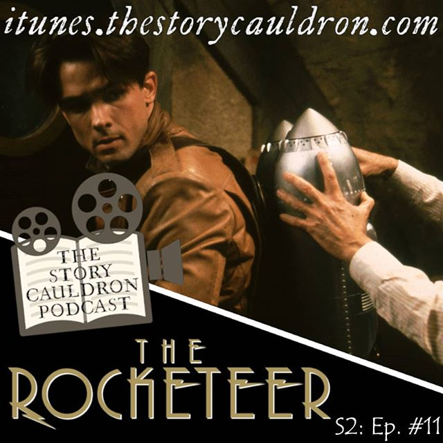 Good news! We got the computers working JUST in time for your long weekend! Check out our new episode on #Disney's #TheRocketeer, live now on http://www.thestorycauldron.com  and on your favorite podcasting app!  https://www.thestorycauldron.com/listen/rocketeer  #RocketPack #JetPack #DisneyClassics #ForgottenDisney #ScienceFiction #AlternativeHistory #AlternativeComics #ComicBookMovie #MoviePodcast #Podcasting #Film #Movie #Podcast