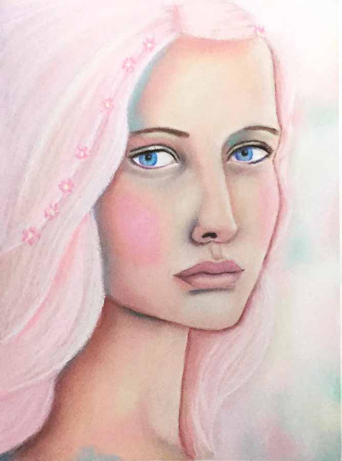 SOLD  Fairy Princess - Pastels