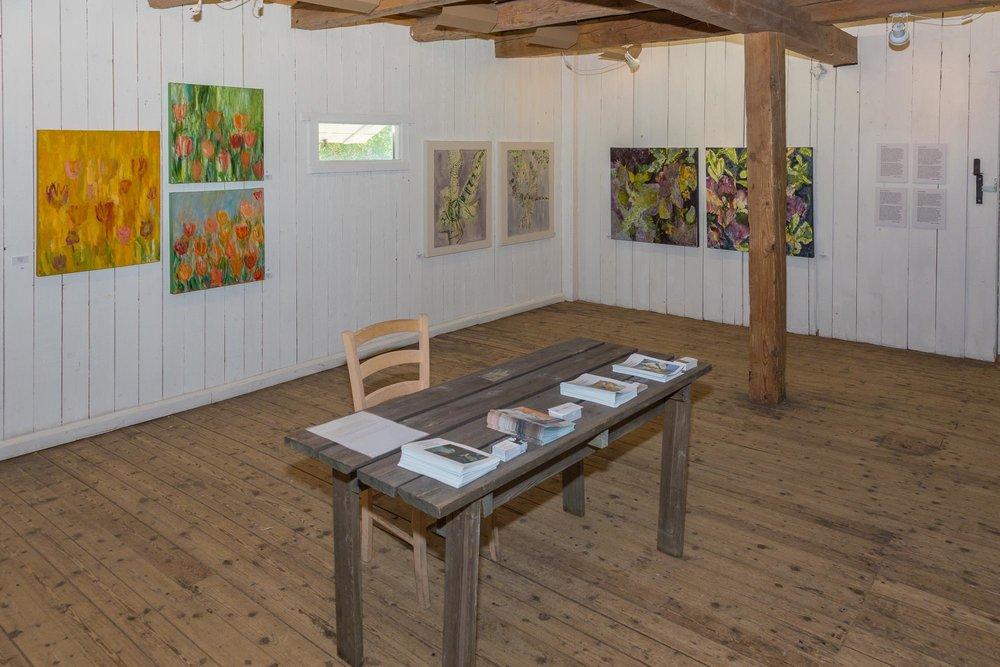 Lyse utstillingslokaler
