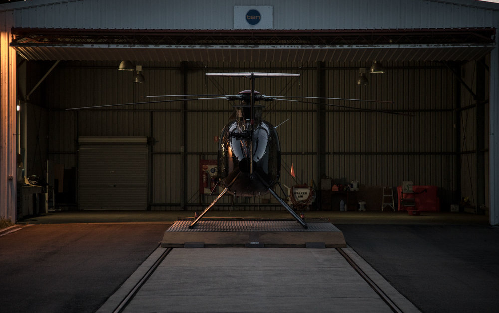 Our MD500 Helicopter for the trip     Canon 5D Mark IV 24-105mm | f/4, 1/20, ISO 2500