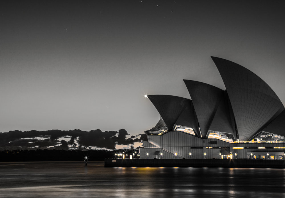 Sydney Opera House shot from position 2 (see below image)   Canon 5D Mark IV, 24-105mm | f/11, 30 sec, ISO 200