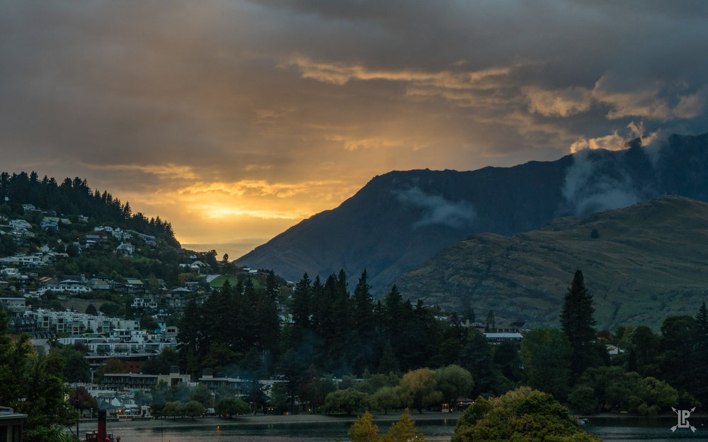 Taken from the deck of the St. Moritz Hotel in Queenstown at Sunrise  Sony a6500, 16-70mm Sony Zeiss Lens | f/11, 1/45 sec, ISO 200