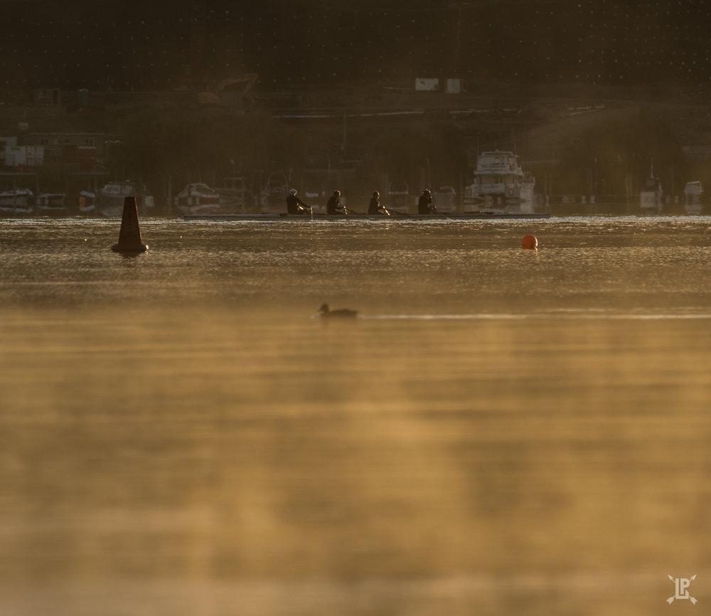 The local man v. nature race on Lake Wanaka   A7RIII,  100-400mm GM