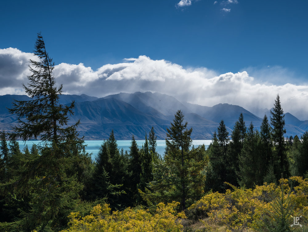 Lake Pukaki shot from the east side of the lake. This is an awesome place to watch the sunset!