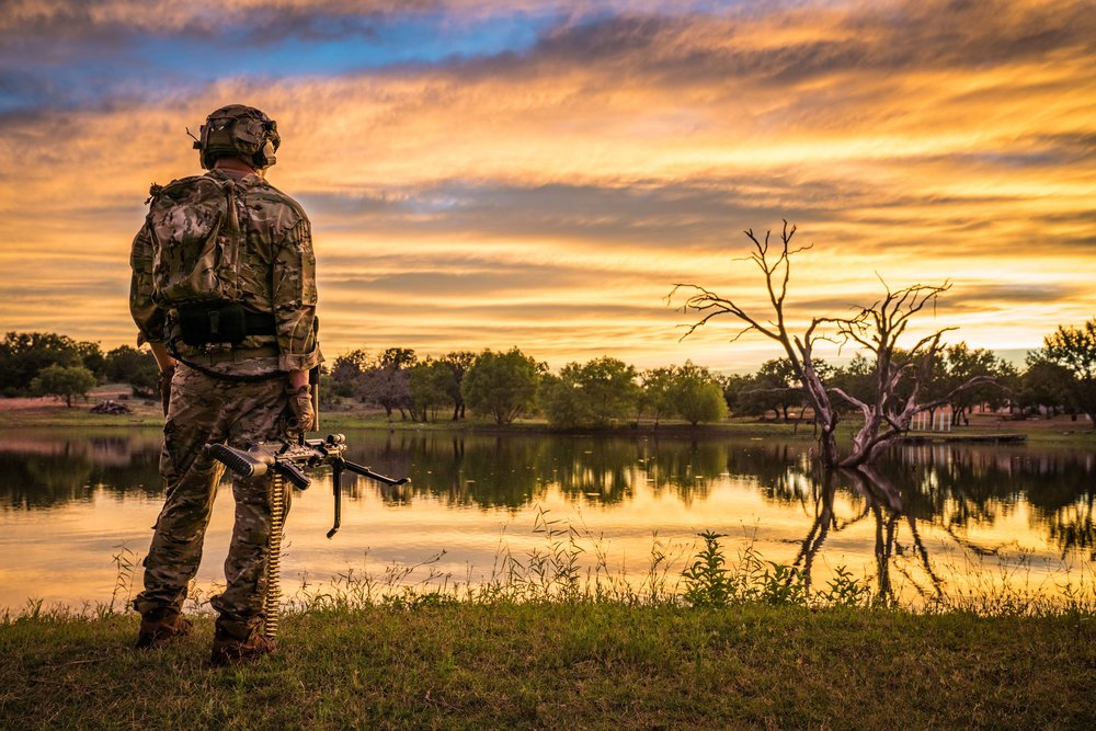 Photoshoot for Quantico Tactical near Marble Falls, TX