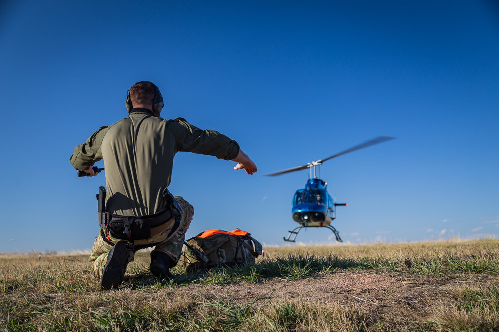 Me landing a helicopter during a photoshoot in Sept 2017.  Photo taken by Josh Cast.  This was one of the more difficult shoots we did because we had to coordinate two helicopters flying next to each other to get the shots we were after.