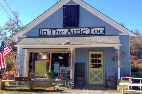 In the Attic Too Antiques  - 10% discount on any purchase