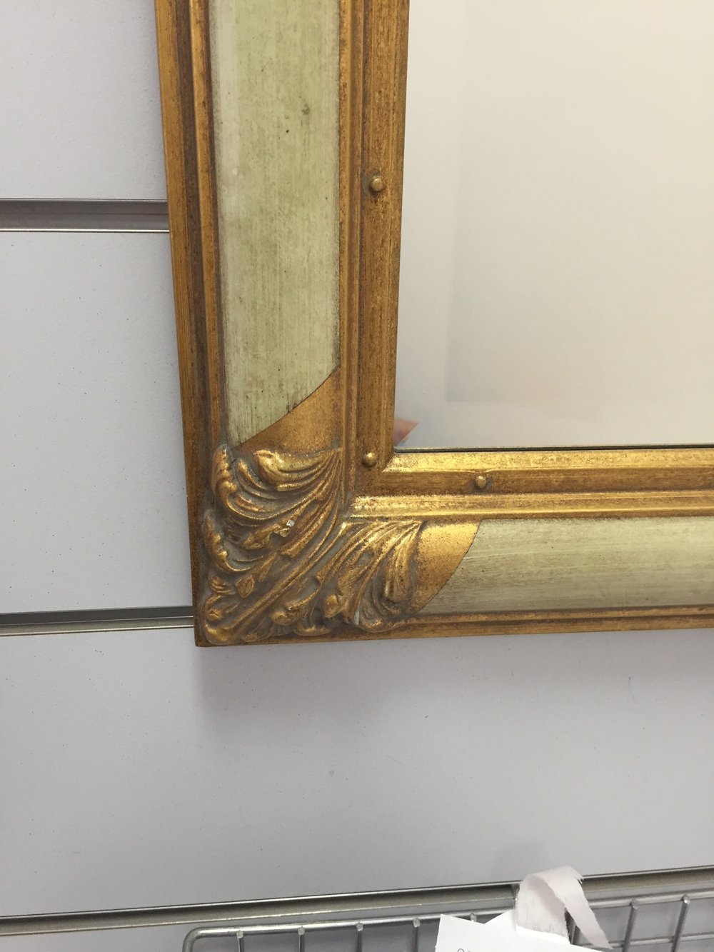 Creme and Gold framed mirror close up.jpg