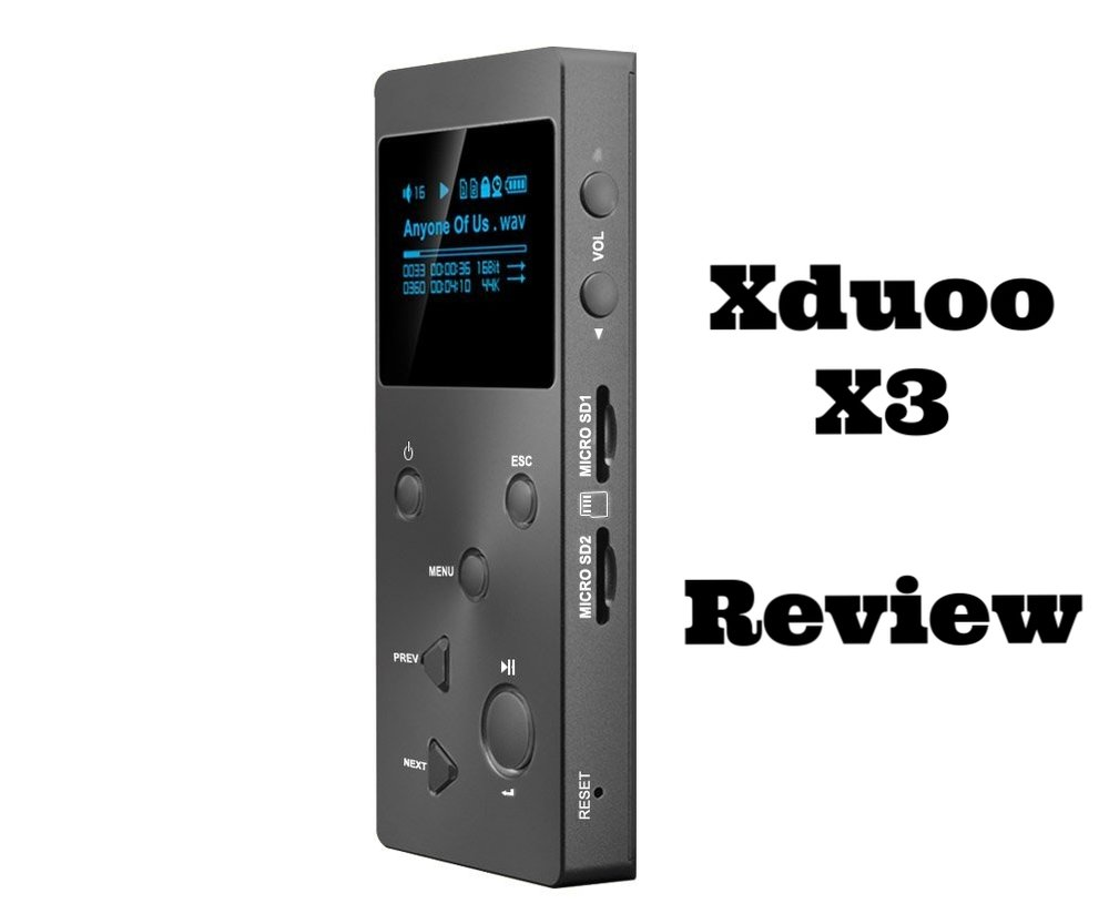 The Xduoo X3 DAP. Review of this budget Hi-Res audio player.