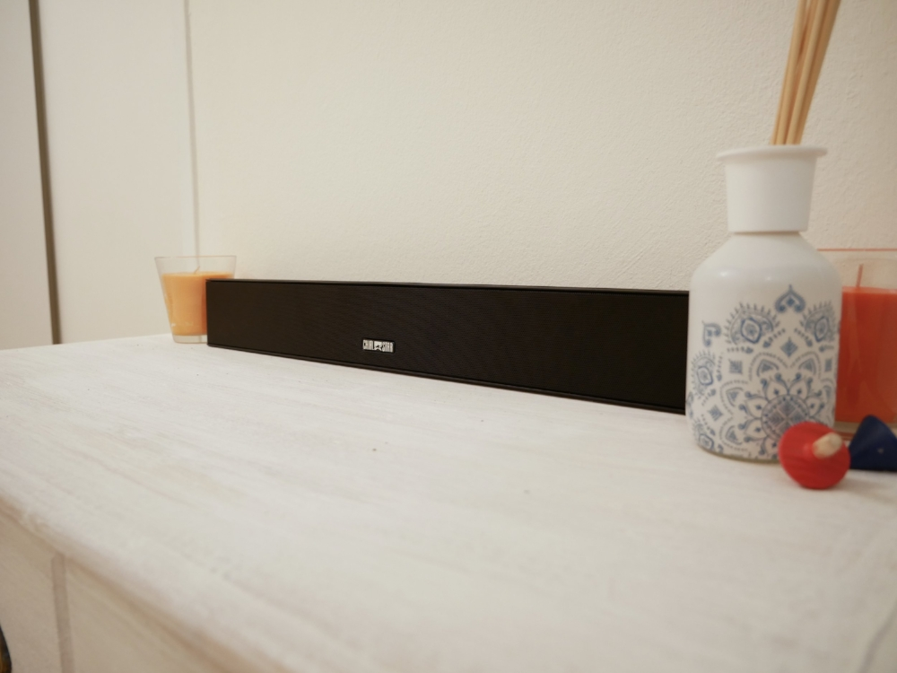 Chialstar Soundbar - A budget soundbar that costs under $100.