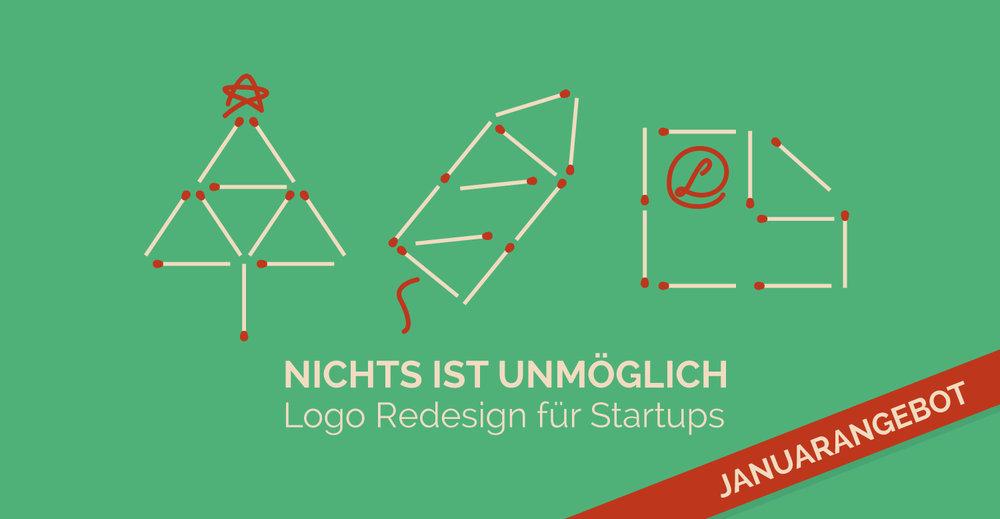 Werbeillustration über das Redesign von Logos von Elisabeth Deim
