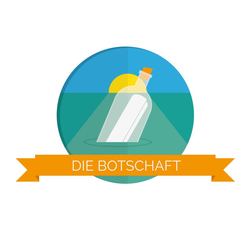 Icon Design Message Botschaft im Briefing von Elisabeth Deim