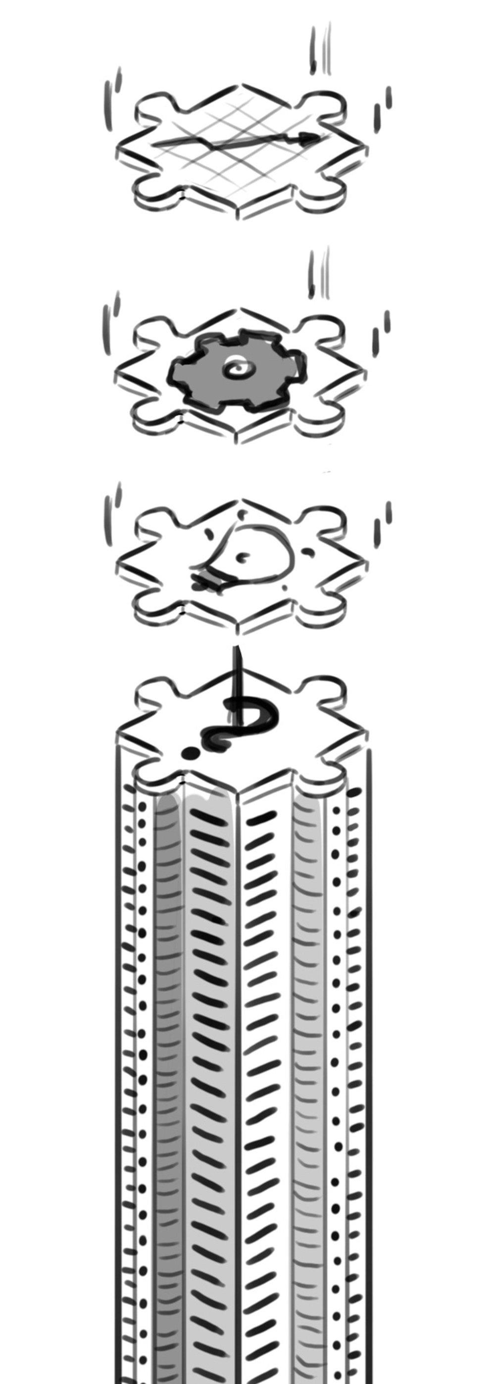 Skizze Illustration Real Estate Management - Elisabeth Deim