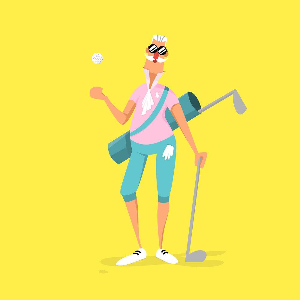 08 - Aristocrat - Character Design von Elisabeth Deim