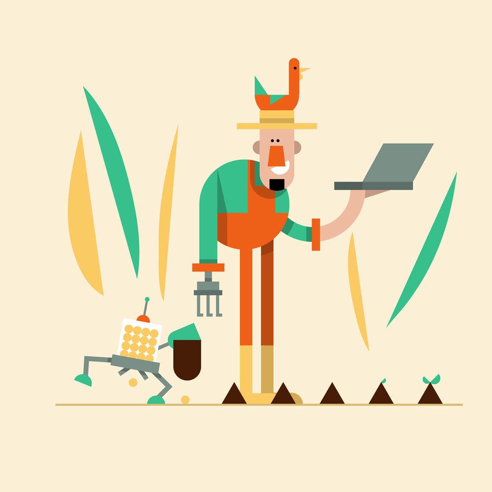 06 - Futur Farmer - Character Design von Elisabeth Deim