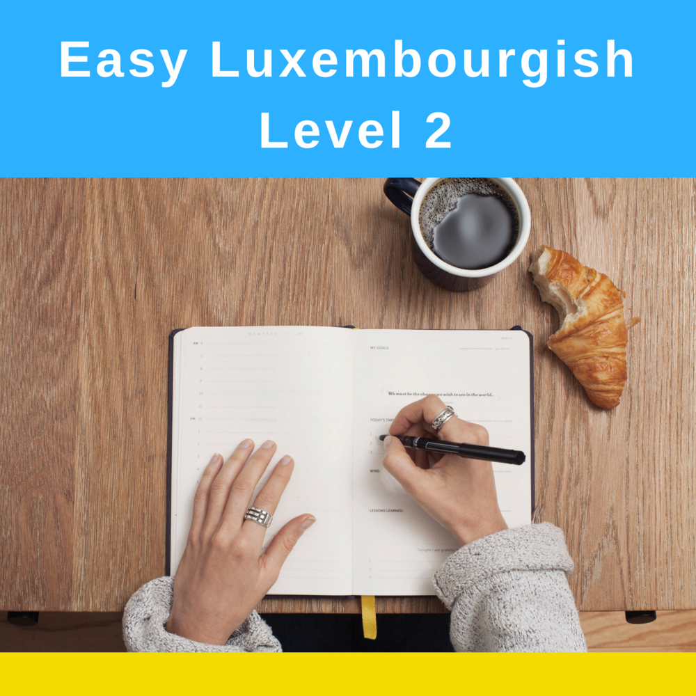Easy Luxembourgish Level 2