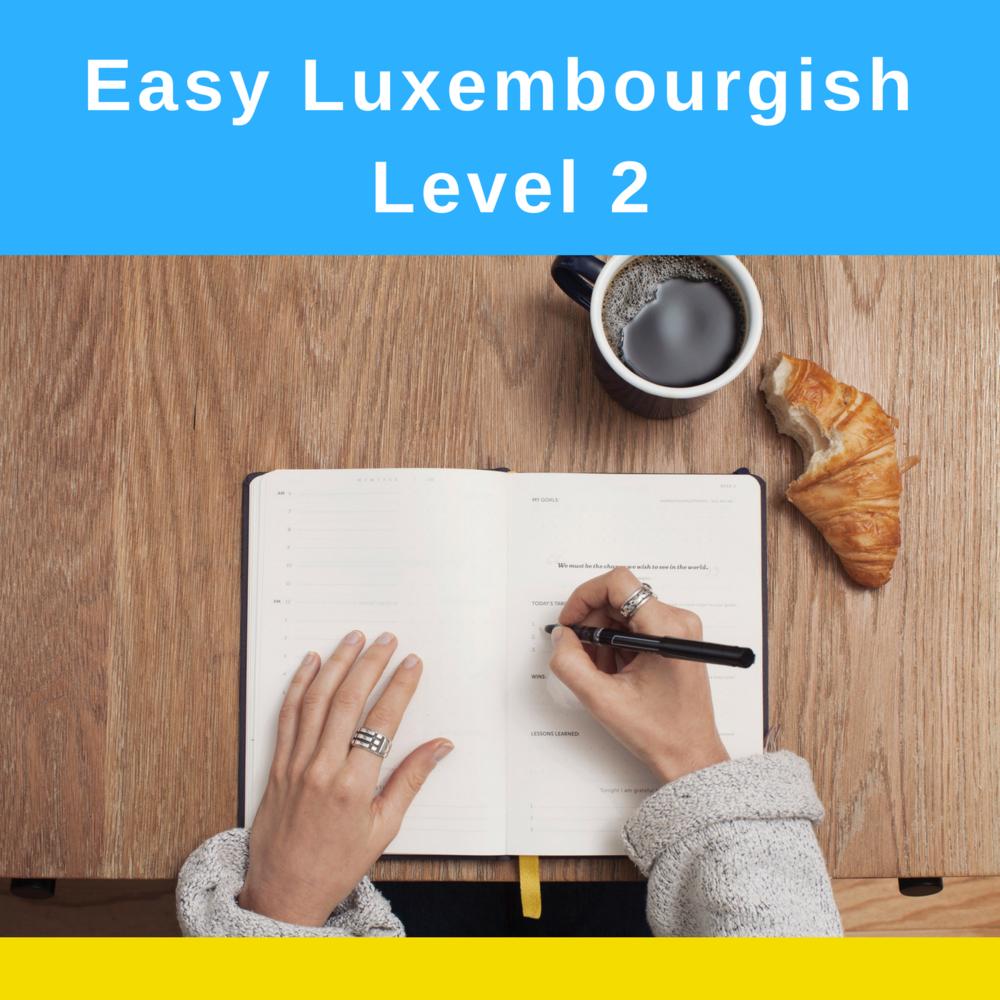 Easy Luxembourgish Level 2