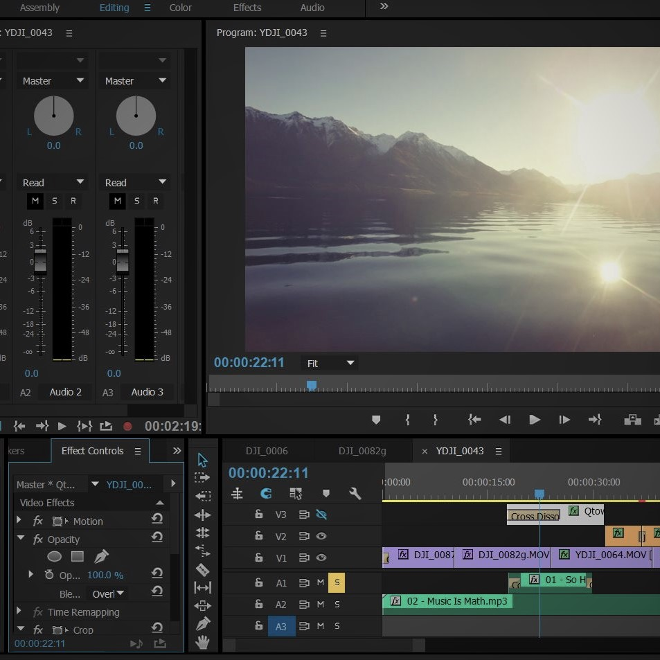 Video Editing - Book Now