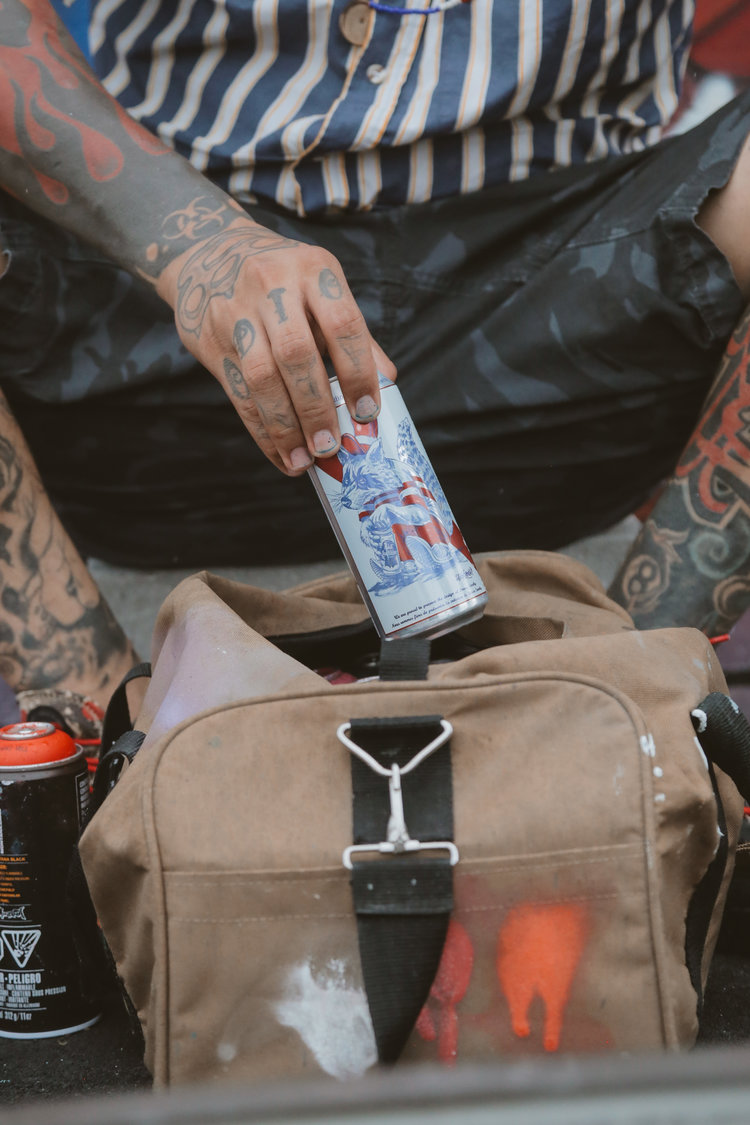 PABST BLUE RIBBON - Limited Edition Art Cans