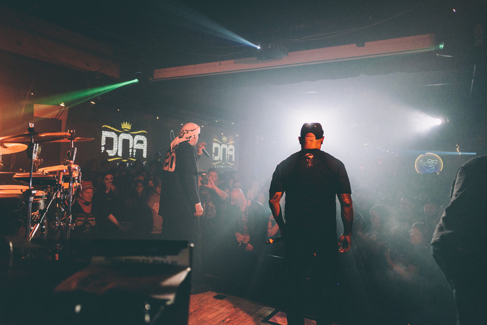 DNA GENETICS - 10.17 Legalization DayWe got to be a part of history as we helped DNA Genetics celebrate Cannabis Legalization Day in Canada with Cypress Hill.Services Rendered:• Project Management• Ideation• Design & Creative• Event Execution