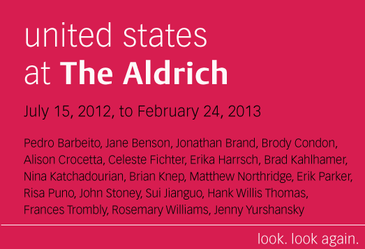 """united states"" exhibition at The Aldrich"