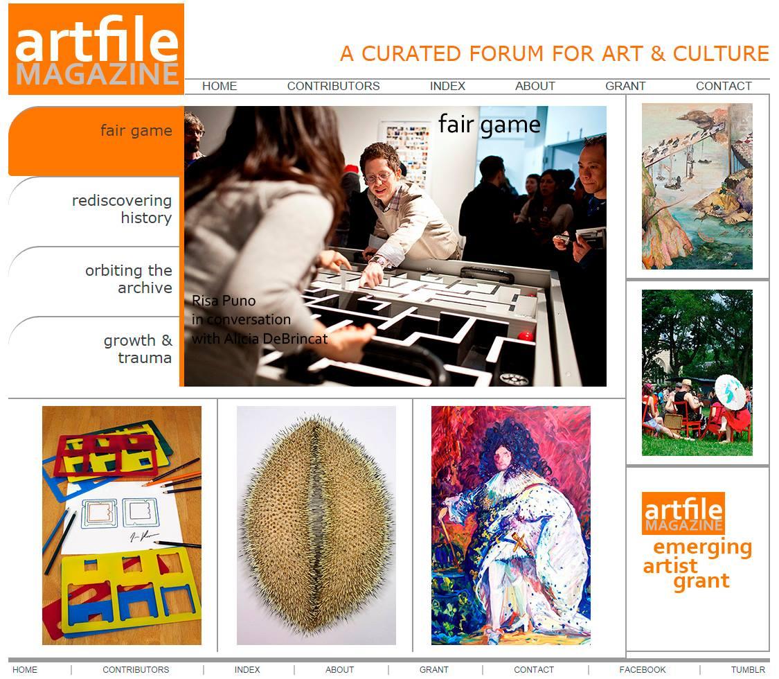 ArtFile Magazine interview